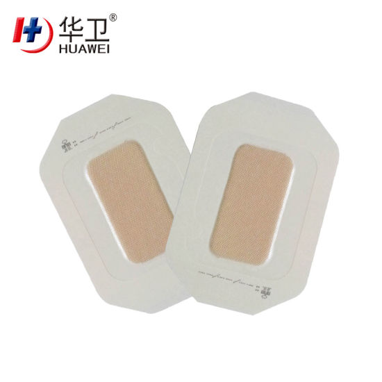Waterproof Transparent Island PU Film Wound Dressing with Paper Frame 10*12