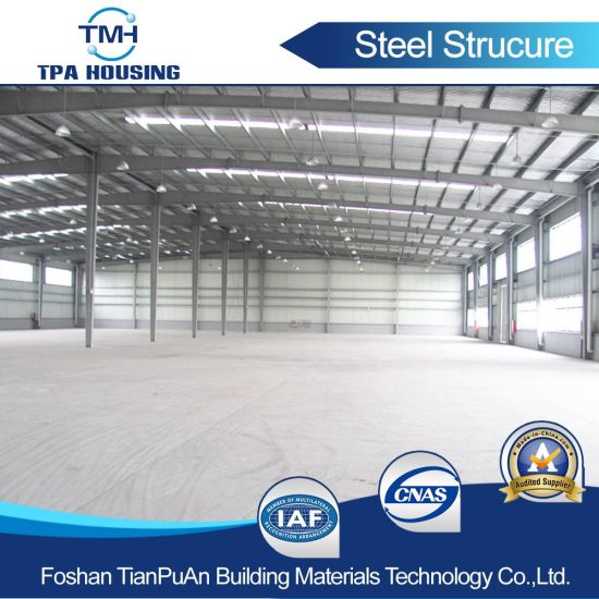 EPS Sandwich Panel Steel Structure Manufacture pictures & photos
