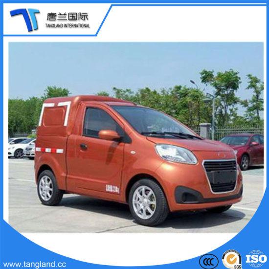 Hot Sale Open Type China 4 Wheel Electric Mini Smart Car Van Closed