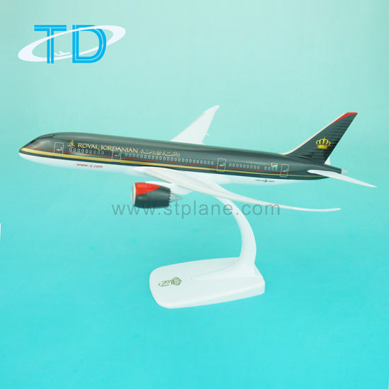 Customized Printed Airlines Promotional Gift Royal Jordanian B787 Plane Model pictures & photos