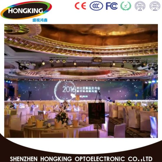 P3.91 Full Color Indoor/Outdoor High Definition Rental Stage LED Display