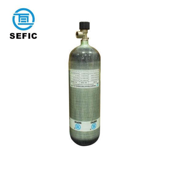 Sefic 6.8L Carbon Fiber Gas Cylinder Tank Bottle