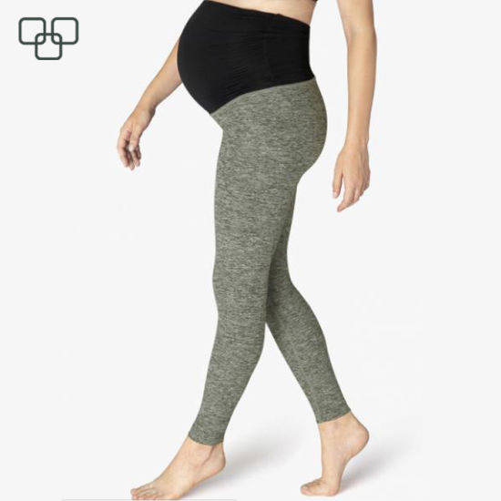 Women Cotton Breathable Pregnancy Maternity Leggings