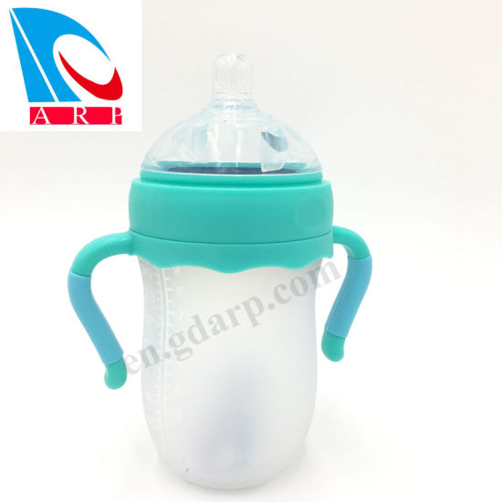 Baby Bottles Free Feeding System - Easy Latch Nipple Best for Bottle-Fed Babies