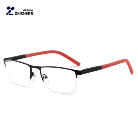 b0fddb7d0b83 High Quality Metal Optical Eyeglasses Spring Hinge Eyewear Frames pictures    photos