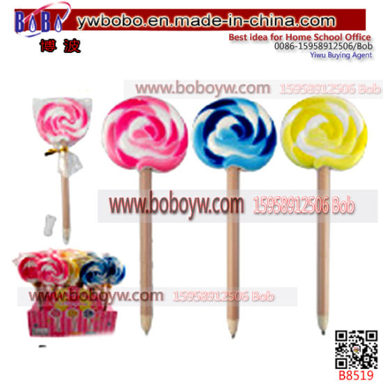 Birthday Gifts Lollipop Pen Promotion School Supplies Student Stationery B8519 Pictures Photos