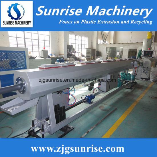 Plastic PE Pipe Machine HDPE Pipe Extrusion Making Machine