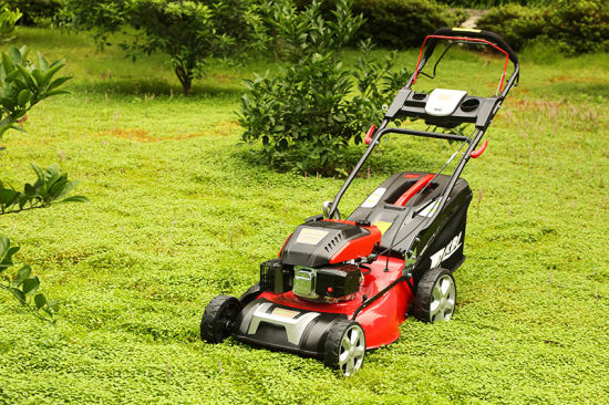 20 Inch Self-Propelled Electric Start Garden Lawn Mower 3 in 1 pictures & photos