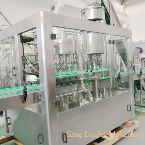 Fruit Drink Bottling Machine with Glass Bottle