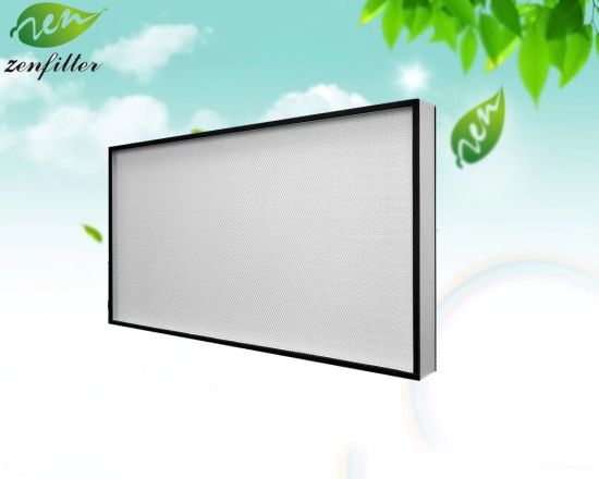 Mini-Pleated Panel Filter and HEPA ULPA High Efficiency Air Filter for Air Conditioning System Filtration