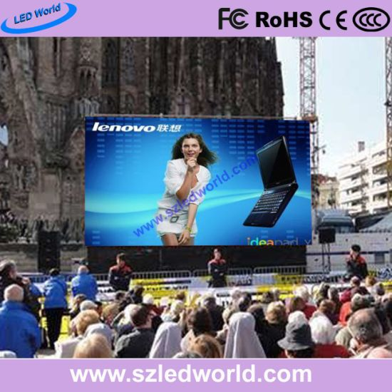 Outdoor P6 Multi Color LED Display Panel for Square Advertising