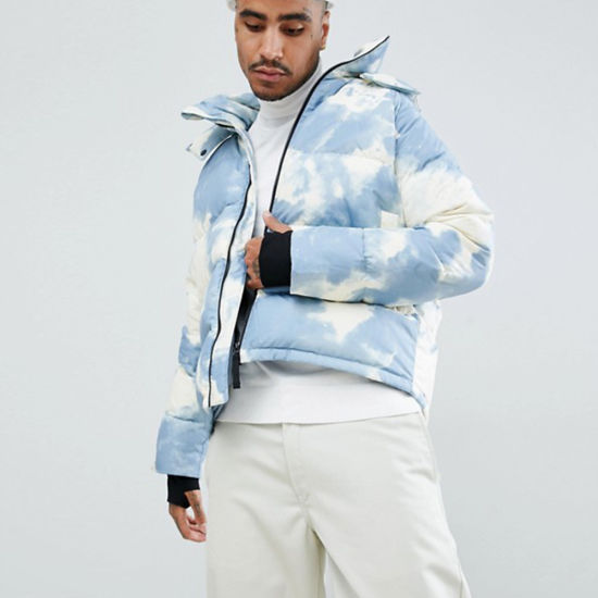 passaporto asiatico Rana  Men Clothes Clouded Hooded Winter Puffer Jacket Coat in Blue - China Winter  Jackets and Winter Coats price | Made-in-China.com