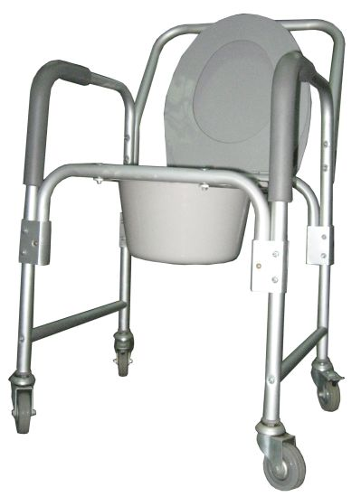 Durable Steel High Quality Commode Chair for Disabled