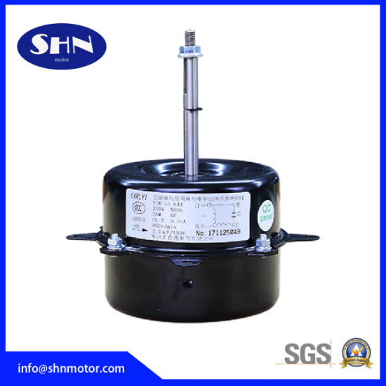 Single Phase Capacitor Induction 30W Air Conditioner Fan Motor