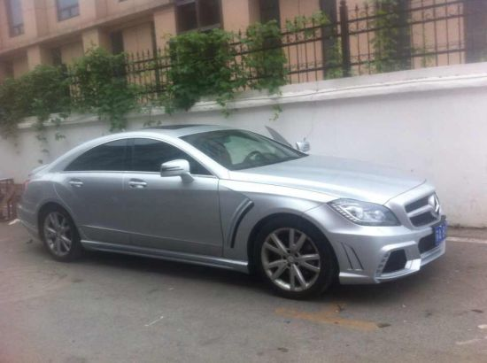 Auto FRP Fiberglass Car Bodykits for Benz Cls Wald