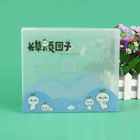Wholesale Clear Frost Manufacturers PP Packing Plastic Packaging Box