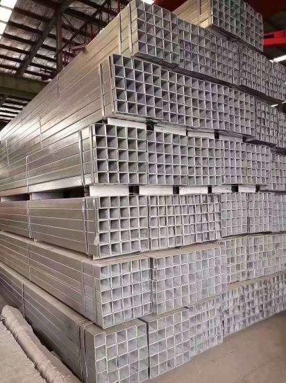 En10219 Materials Black Steel Square Tube 100X100 S235 Rectangular Steel Tube