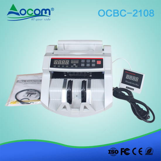 Ultraviolet Counterfeit Bill Currency Counting Machine Money Detector