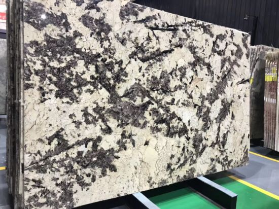 Natural Stone Splendor Gold Granite Slabs Tiles for Floor Wall pictures & photos
