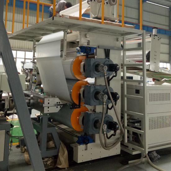 Artificial PVC Marble Sheet Profile Extrusion Machine Line