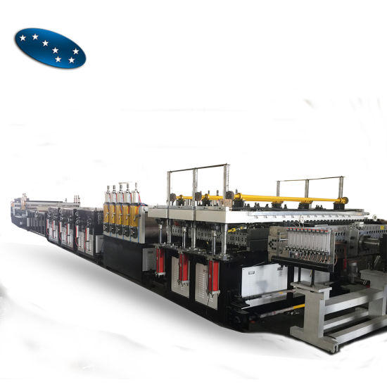 Plastic PE/PP Hollow Sheet Extrusion Line