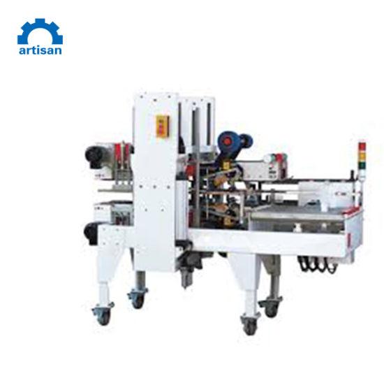 Automatic Carton Corner Type Adhesive Tape Box Carton Sealing Sealer Machine