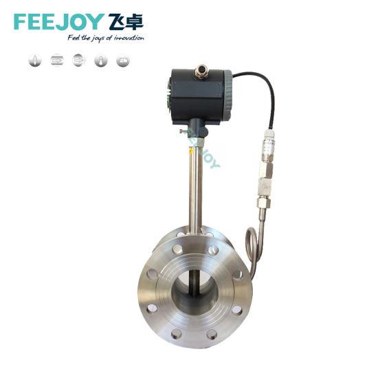 FM11-6 Air Hydrogen Gas Medical Oxygen LPG Vortex Flow Meter