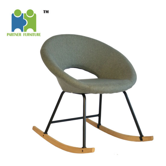 Miraculous Victoria 2019 Hot Selling Comfortable Relax Soft Fabric Cover Rocking Chair Machost Co Dining Chair Design Ideas Machostcouk
