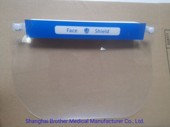 Customized Logo Reusable Protective Face Shield and Face Shield Visors