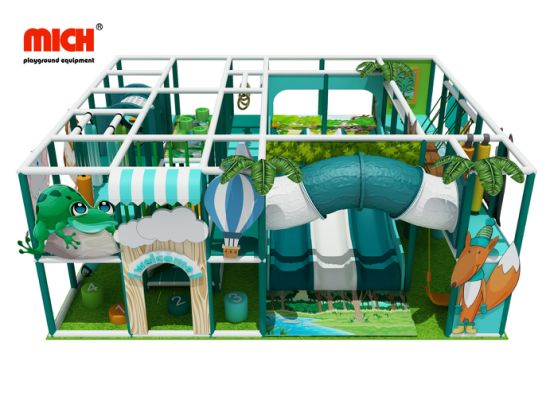 Products Used Amusement Park Indoor Baby Naughty Castle Toddler Soft Playground for Sale