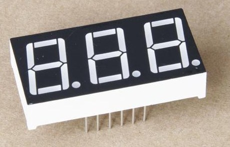 0.56 Inch Three Digits Red 7 Segment Numeric LED Display Boards pictures & photos