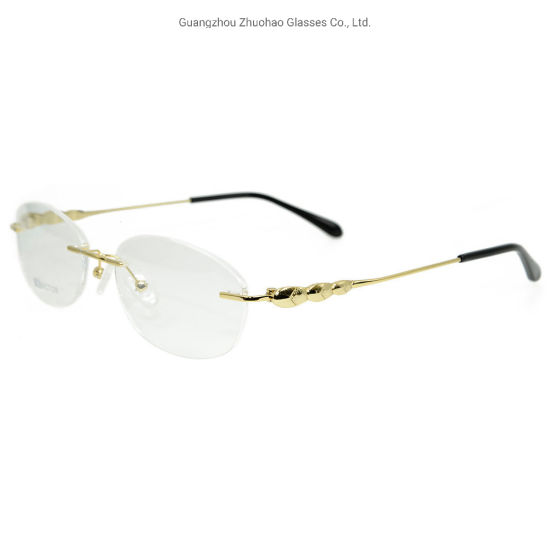 Hot Sale Metal Diamond Glasses Frame Fashion New Vogue Design Optical Eyeglasses Frames for Women