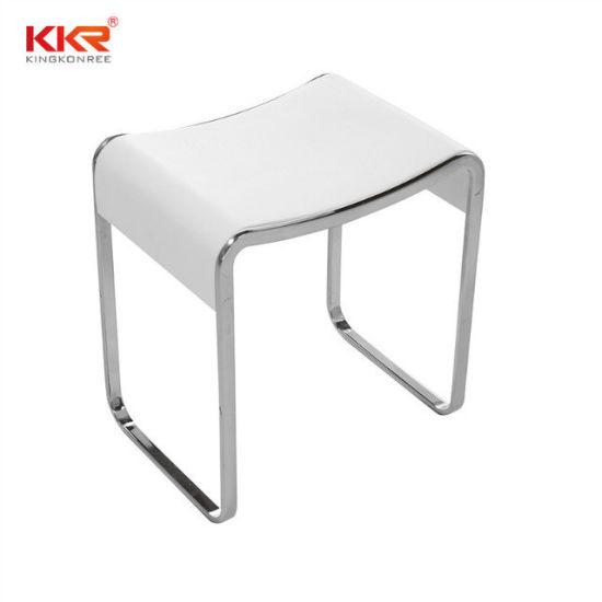 Amazing Bath Stool Kkr Acrylic Solid Surface Bathroom Small Seat Customarchery Wood Chair Design Ideas Customarcherynet