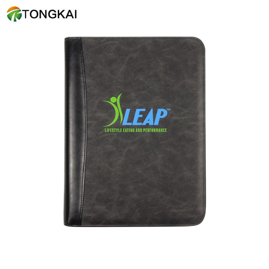 A4 or Customized Size Professional Business Organizer Tablet Computer Bag Agenda Folder