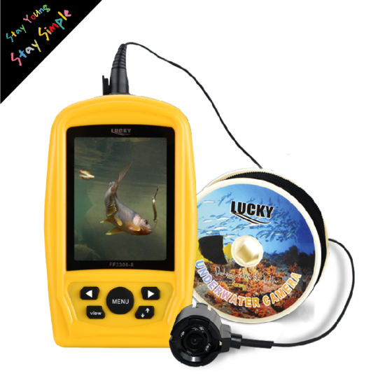 Underwater Camera for Fishing Equipment 20m Cable 12 LED Night Vision Waterproof Color Fishing Camera pictures & photos