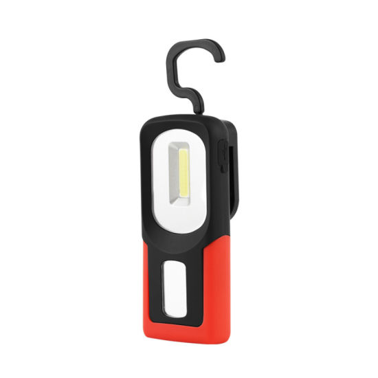 Rechargeable Work Lights with Magnet Hook Portable Vehicle Emergency Flashlight