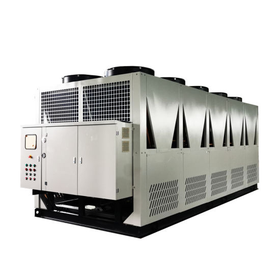 20 Ton to 150 Ton Hot Sales Air Cooled Industrial Screw Chiller