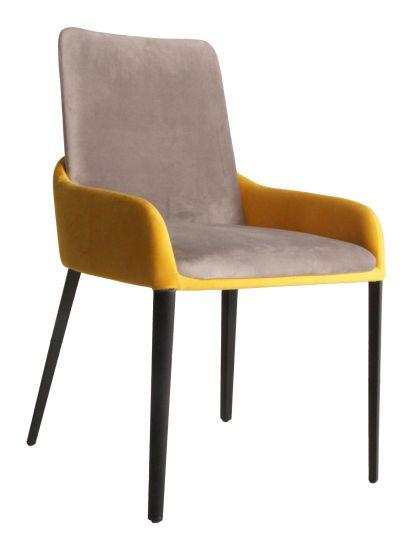Modern Living Room Furniture Restaurant Banquet Fabric Dining Metal Hotel Chair