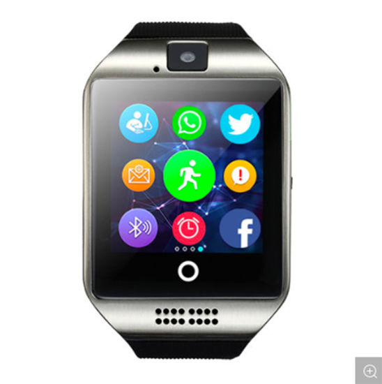 Q18 Touch Screen Camera Support TF Card Wireless Smart Watch