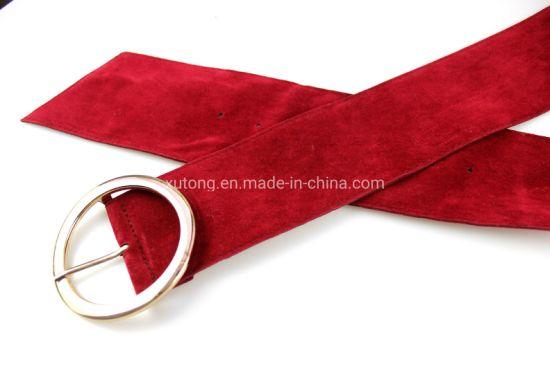 Fashion Fabric Belts Wide Cotton Waist Belt