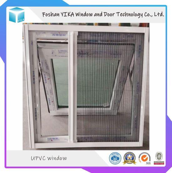 PVC/UPVC Sliding Window with Mosquito Net for India Market