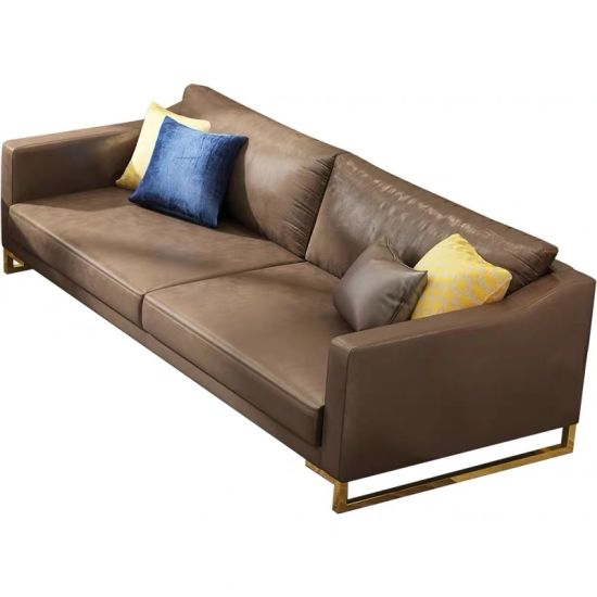 China European Style Sectional Leather