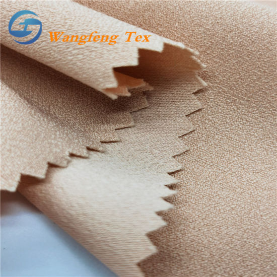 150d Polyester False Twist Crepe Chiffon Fabric for Pants