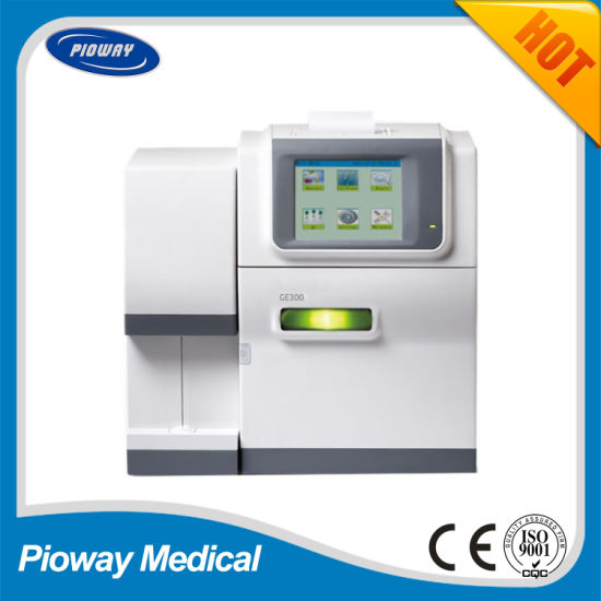 China ISE Electrolyte Analyzer with Free Startup Reagent (GE300D)