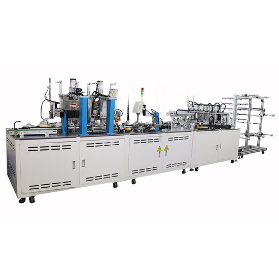Factory Direct Sale High Quality N95 Cup Mask Machine Full Automatic Cup Mask Ultrasonic Welding Machine