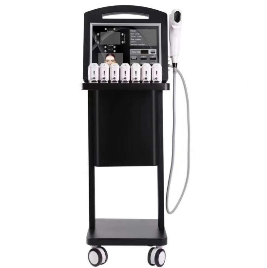 Korea Hifu 4D 2 in 1 V-Max Face Lift and Skin Tightening Beauty Machine for Beauty Salon