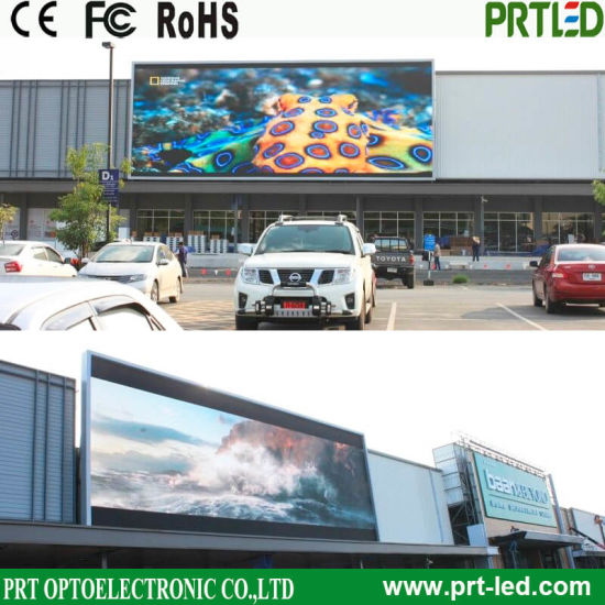 High Brightness Outdoor Advertising Billboard with Front / Rear Access (P10, P8) pictures & photos