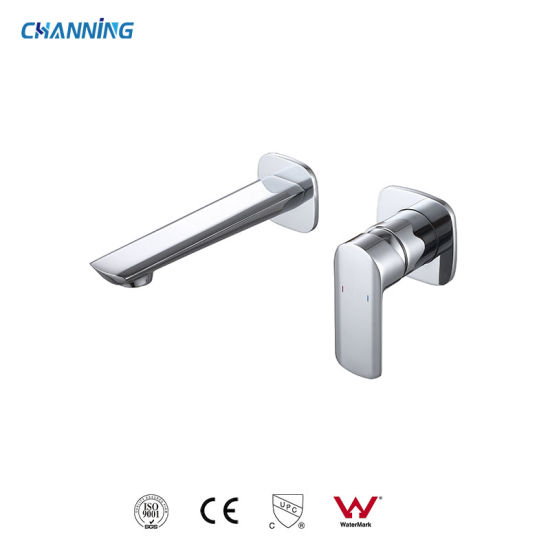 Factory Price High Quality Bathroom Wall Mounted Basin Mixer Single Handle Brass Basin Tap Wash Basin Faucet (QT-72 1701)