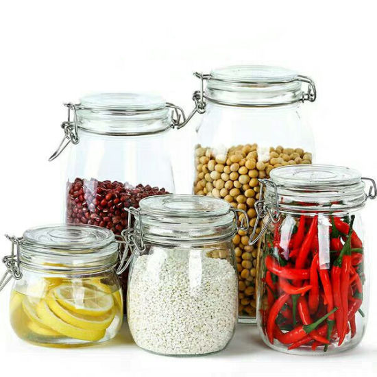 Factory Produced Different Sizes Glass Storage Jar pictures & photos
