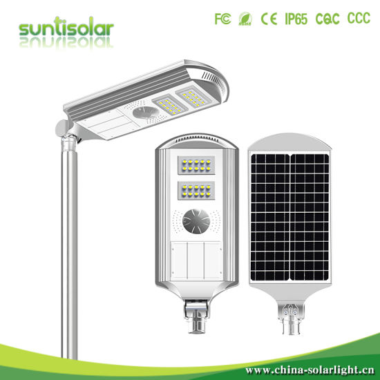 Light Control IP65 Outdoor All in One LED Solar Wall Light